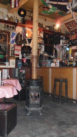 Nicky Tams Bar & Bothy: super cozy con mucha personalidad