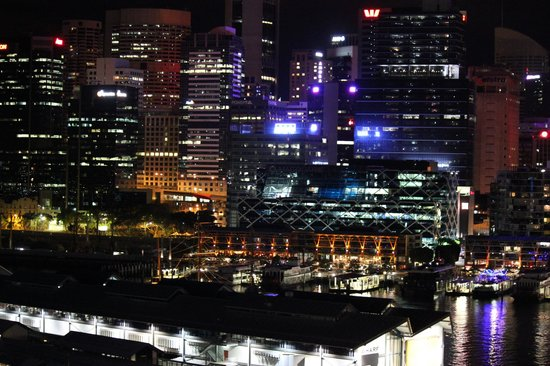Astral Tower and Residences:                   Beautiful Sydney at night