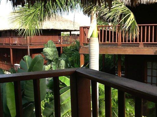 Van der Valk Kontiki Beach Resort: utsikt från veranda