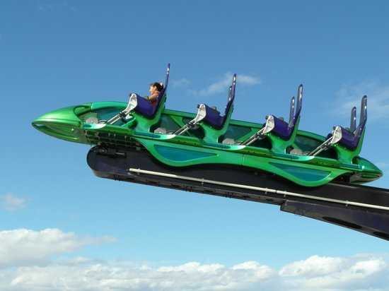 X-Scream ride - Stratosphere Tower - Picture of Las Vegas ...