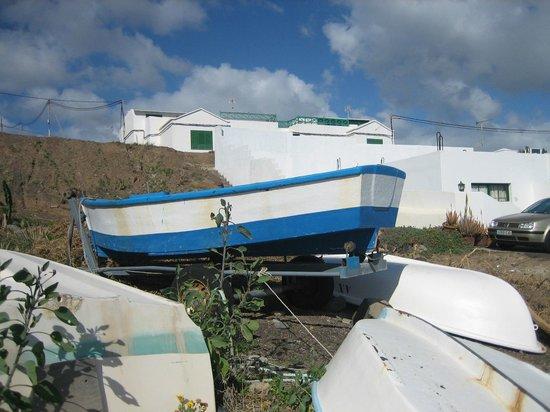 Playa Quemada fishing boats