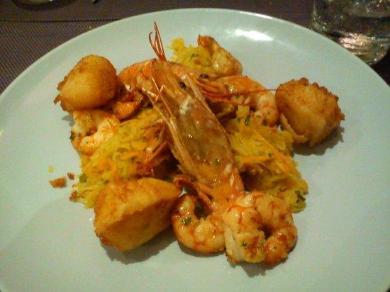 Crevettes sauvages picture of restaurant amedelys brive - Cuisine brive la gaillarde ...