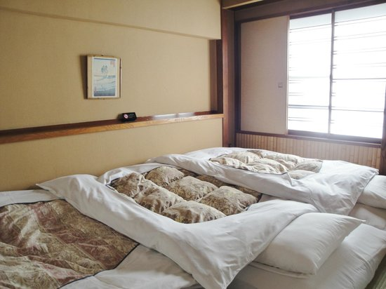 Hotel Edoya:                   Sleeping area