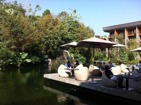 Renaissance Phuket Resort & Spa: Aussicht Frühstück