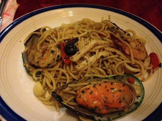 Bella Italia: spaghetti aglio olio