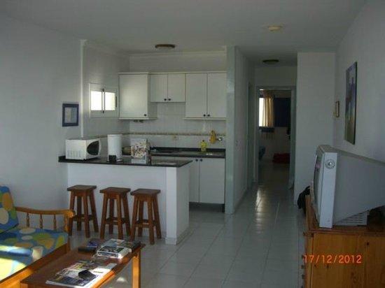 Apartamentos Jable Bermudas:                   the kitchen