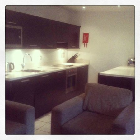 Premier Apartments Manchester: Kitchen Apartment 418