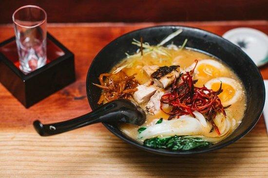 Yatai Izakaya: Spicy chicken ramen from our late night menu.
