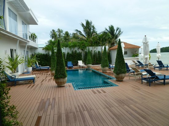 Phuket Boat Quay Boutique Guesthouse : Pool area