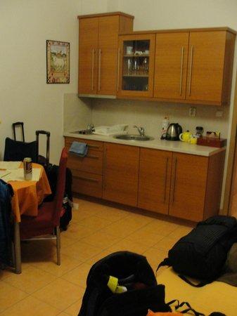 อพาร์ทโฮเต็ล ซิตี้ 5:                   Cozinha / sala