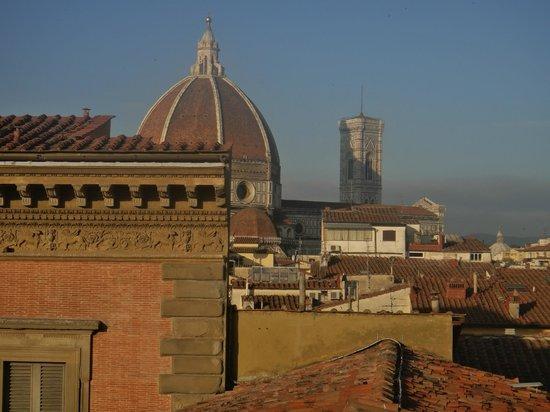 Hotel Loggiato dei Serviti:                   Another view from our bathroom windwo