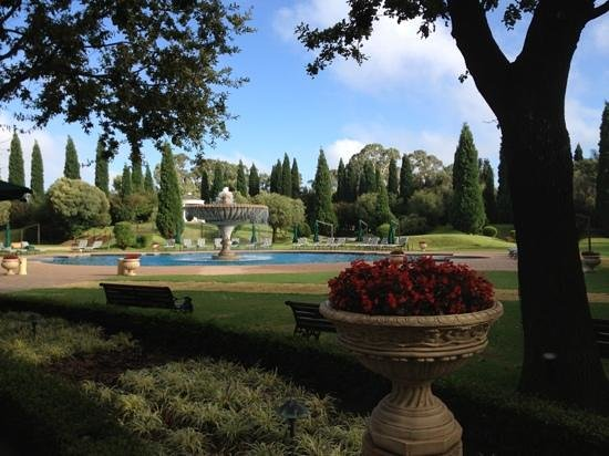 Peermont D'oreale Grande at Emperors Palace:                   jardins internos