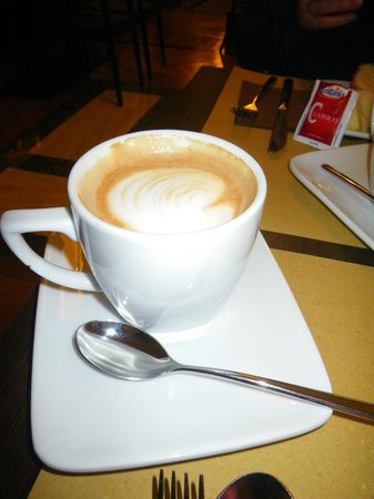 Relais 6:                   Daily morning fresh cappuccino