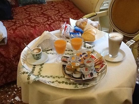 Aquavenice: la colazione in camera
