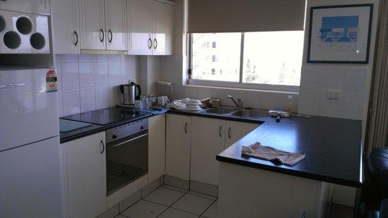 Kupari Boutique Apartments: Open kitchen