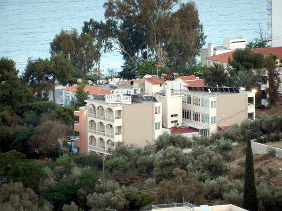 Paradise Lost Hotel-Apartments :                   Вид на отель сверху