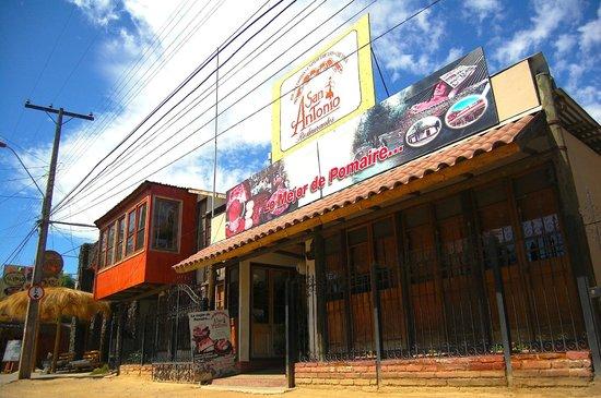 Pomaire, Chile: Fachada Restaurant San Antonio Casa Colonial