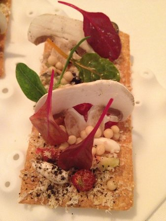Hotel Arts Barcelona:                   Winter Salad