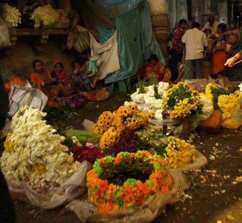 Malik Ghat Flower Market