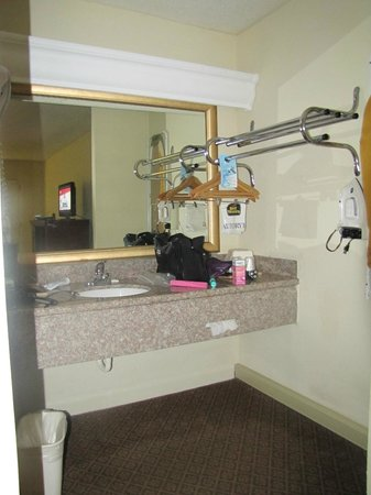 BEST WESTERN Point South: vanity area