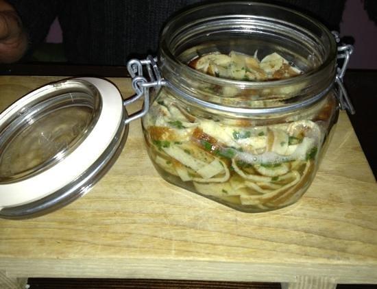Rukoller: zuppa di frittatine