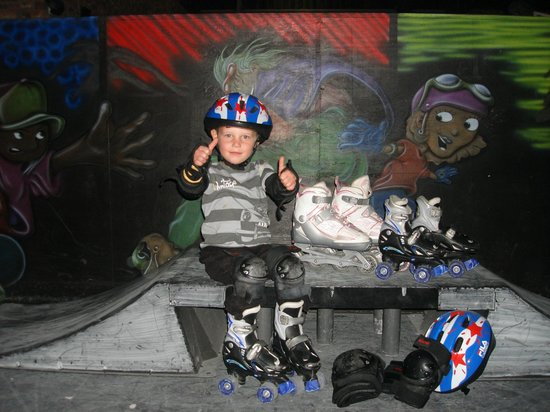 Blasters Family Entertainment Centre: Rollerblading for all ages