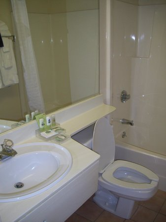 Travelodge Suites New Glasgow: bagno