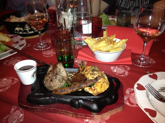 Le Loup Blanc :                   Mixed Grill