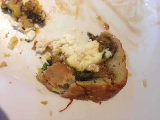 The Easington: crappy veggy option