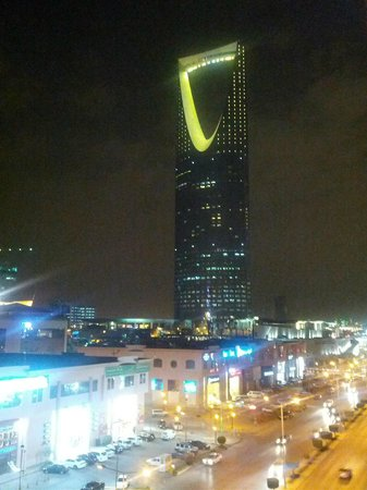 Executives Olaya Hotel:                   View from 504