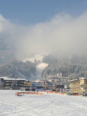 Alpina Zillertal: Blick aus Panorama Suite 401