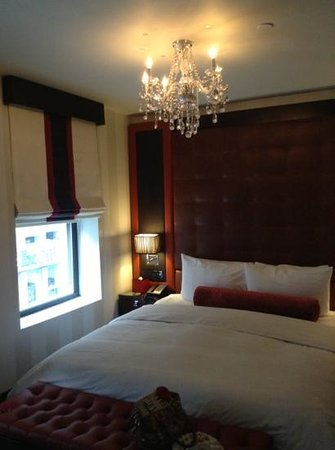 Sanctuary Hotel New York:                   Beautiful, Impressive, Clean Rooms