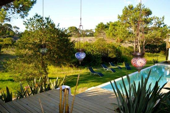 Posada Arenas de Jose Ignacio:                   Pool area