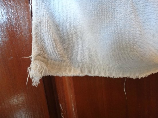 Tanei Boutique Villa:                   used towel