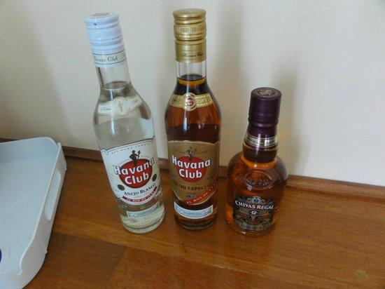 Melia Las Antillas:                   Beverages in room 5131