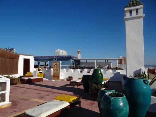 Les Terrasses d'Essaouira : la belle terrasse du Riad