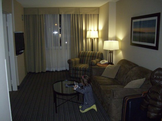 Cambridge Suites - Sydney: salottino
