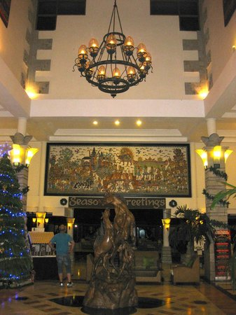 Bali Rani Hotel: Bali Rani Reception