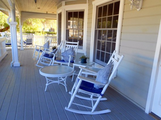 Ballard Inn:                   Front Porch