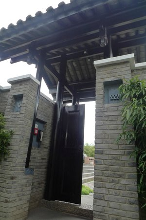 بانيان تري ليانج:                   Entrance to our Pool Villa                 