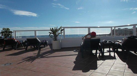 Hotel Roc Lago Rojo: Udsigt fra tagterrassen