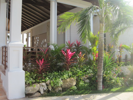 Royalton Cayo Santa Maria: Garden lobby/Jardin du lobby