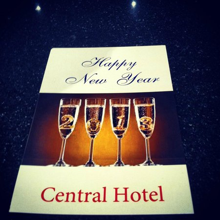 Central Hotel : Happy new year 2012