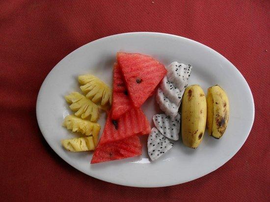 La Maison d'Angkor: Parte del desayuno