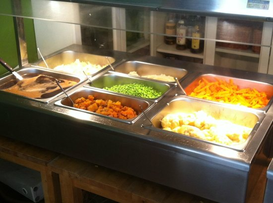 The Restaurant at Burriana: Carvery - vegetables selection