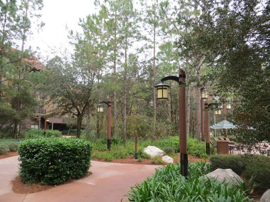Boulder Ridge Villas at Disney's Wilderness Lodge:                   Villas