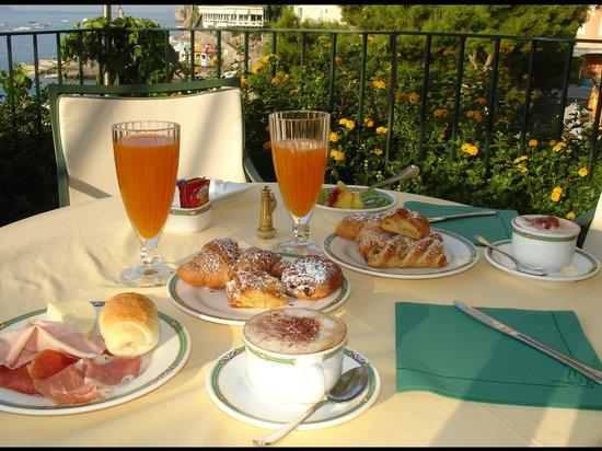 Hotel Buca di Bacco: Colazione