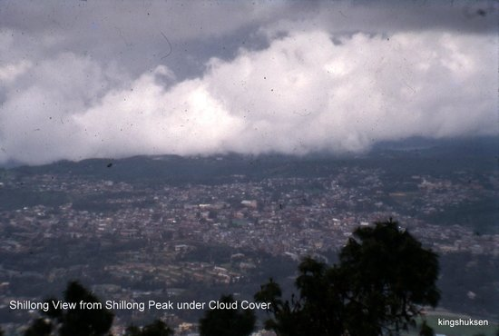 Shillong Peak: In a cloudy day