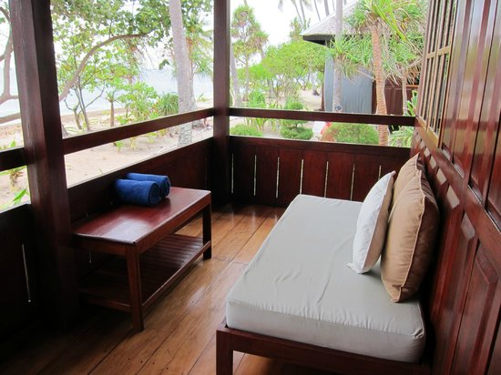 Wakatobi Dive Resort: Porch