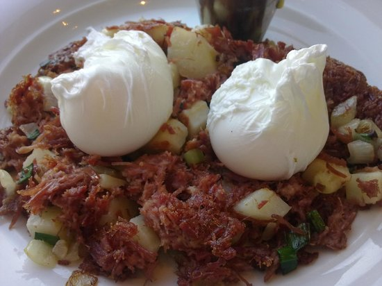Hyatt Regency Boston Harbor: Breakfast - corned beef hash